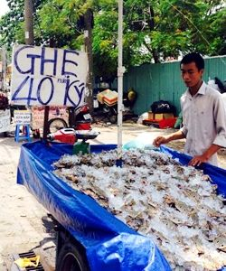 Vung Tau crab 'super cheap' full line sale Saigon