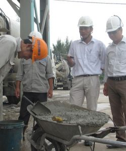 INSPECTION PRIOR TO CONCRETE SLUMP PRODUCTION WORKSHOP
